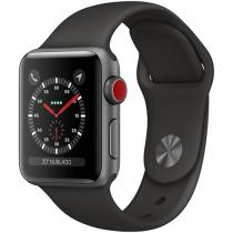 Apple Watch Series 3 38mm Cellular GPS Integrado - Wi-Fi Bluetooth Pulseira Esportiva 16GB