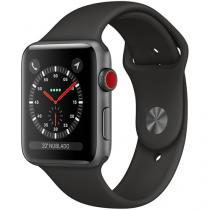 Apple Watch Series 3 42mm Cellular GPS Integrado - Wi-Fi Bluetooth Pulseira Esportiva 16GB