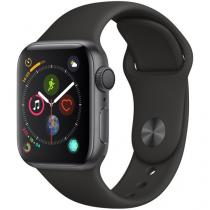 Apple Watch Series 4 40mm GPS Integrado Wi-Fi - Bluetooth Pulseira Esportiva 16GB Caixa Alumínio