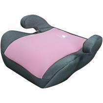 Assento de Elevação para Auto Mastela Capri - para Crianças de 22kg até 36kg Rosa e Cinza