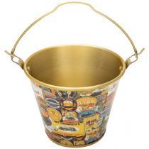 Balde de Gelo Alumínio para Cerveja 5L - Alumiart Falcão Mix de Rótulos
