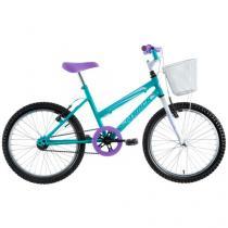 Bicicleta Track & Bikes Cindy Aro 20 - Quadro de Aço Freio V-Brake