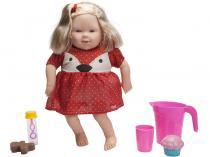 Boneca Holly Lanchando no Parque com Acessórios - Pupee