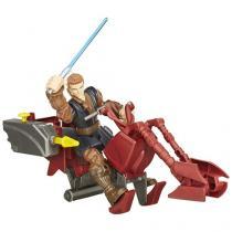 Boneco Star Wars Hero Mashers - Jedi Speeder e Anakin Skywalker Hasbro