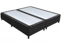 Box para Colchão Queen Size Plumatex Bipartido - 37cm de Altura Nero