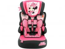 Cadeirinha para Auto Team Tex Disney - Beline Minnie Mouse Dots 9 a 36kg