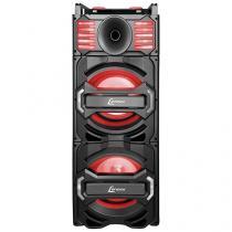 Caixa de Som Amplificadora Lenoxx CA 3800 1000W - Bluetooth USB com Subwoofer com Microfone MP3