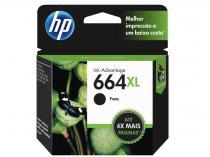Cartucho de Tinta HP Preto 664 XL - Original