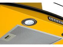 Coifa de Parede Fogatti 75cm com Vidro Curvo - 3 Velocidades CVC Slim 75