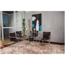 Conjunto de Mesa para Jardim/Área Externa - com 4 Cadeiras Alegro Móveis CJMB401315