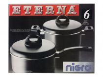 Conjunto de Panelas Antiaderente 6 Peças - Nigro Eterna 25916