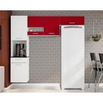 Cozinha Compacta Poliman Móveis Ana - 5 Portas 1 Gaveta