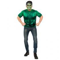 Fantasia Infantil Hulk Tam. M - Rubie´s