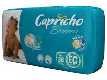 Fraldas Capricho Bummis Tam EG 38 Unidades  - com Indicador de Umidade e Tecnologia Respirável