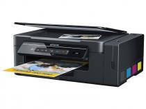 Impressora Multifuncional Epson EcoTank L395 - Tanque de Tinta Colorida Wi-Fi USB