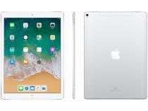 """iPad Pro Apple 4G 256GB Prata Tela 12,9"""" - Retina Proc. Chip A10X Câm. 12MP + Frontal iOS 11"""