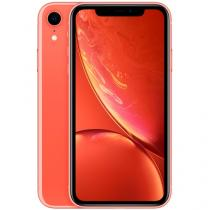 "iPhone XR Apple 256GB Coral 4G Tela 6,1"" Retina - Câmera 12MP + Selfie 7MP iOS 12 A12 Bionic Chip"