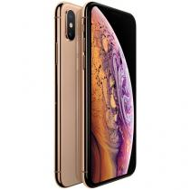 "iPhone XS Max Apple 64GB Ouro 4G Tela 6,5"" Retina - Câmera Dupla 12MP + Selfie 7MP iOS 12"