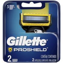 Lâmina de Barbear Gillette Fusion - Proshield 2 Peças