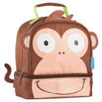Lancheira Escolar Multikids Little Buddys Macaco Caco Térmica BB237 -