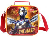 Lancheira Infantil Escolar Marvel Amarela DMW - Plus Ant Man and the Wasp