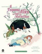 Livro - A pequena Alice no país das maravilhas -