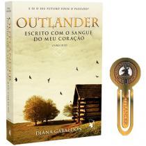 Livro Outlander Escrito com o Sangue do meu  - Coração Diana Gabaldon com Brinde