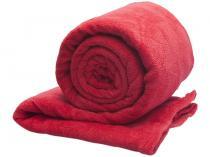Manta Queen Size Microfibra 222318700 - Vermelho