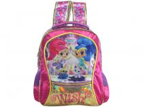 Mochila Escolar Tam. G Xeryus - Shimmer & Shine Whats Your Wish