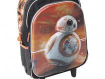 Mochila Infantil Escolar com Rodinhas Sestini - Star Wars 17X SW7