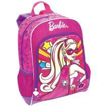 Mochila Infantil Escolar Sestini Barbie - Super Princesa com Capa