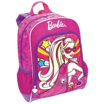 Mochila Infantil Sestini Barbie Super Princesa - com Capa Super Princesa
