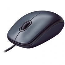 Mouse Logitech Óptico 1000DPI 3 Botões M90 -