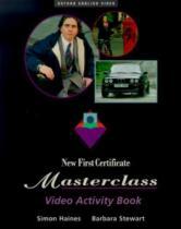 New First Certificate Masterclass Video Activ Book - Oxford do brasil