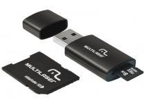 Pen Drive 8GB Multilaser MC058  - Adaptador SD