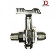 Registro baixa pressão industrial durata zincado -