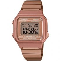 Relógio Feminino Casio Digital Vintage - B650WC-5ADF Rosê
