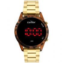 Relógio Feminino Condor Digital - COJHS31BAH/7S Dourado