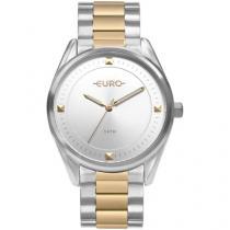Relógio Feminino Euro Analógico - EU2036YOC/5K Prata e Dourado