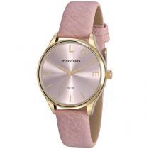 Relógio Feminino Mondaine Analógico - 76743LPMVDH1 Rosa