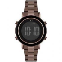 Relógio Feminino Technos Digital BJ3059AE/4P - Marrom