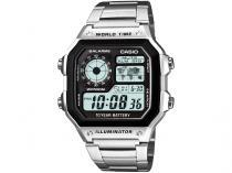 Relógio Masculino Casio Digital - AE-1200WHD-1AVDF