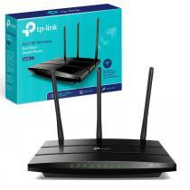 Roteador Archer C7 V5 Wi-Fi Wireless TP-Link AC1750 Dual Band Gigabit 10/100/1000 Preto 3 Antenas -