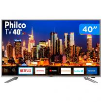 "Smart TV 4K LED 40"" Philco PTV40G50SNS - Wi-Fi 3 HDMI 2USB"