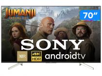 """Smart TV 4K LED 70"""" Sony XBR-70X835F Android - Wi-Fi HDR 4 HDMI 3 USB"""