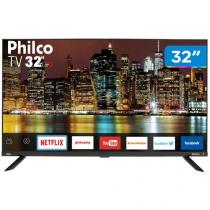 "Smart TV LED 32"" Philco PTV32G60SNBL Wi-Fi - 2 HDMI 1 USB"