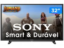 "Smart TV LED 32"" Sony KDL-32W655D/Z Wi-Fi  - Conversor Digital 2 HDMI 2 USB"