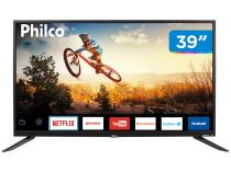 "Smart TV LED 39"" Philco PTV39E60SN Wi-Fi - 2 HDMI 1 USB"