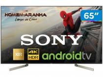 "Smart TV LED 65"" Sony 4K/Ultra HD XBR-65X905F - Android Conversor Digital Wi-Fi 4 HDMI 3 USB DLNA"