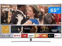 "Smart TV QLED Curva 65"" Samsung 4K/Ultra HD - QN65Q8CAMGXZD Conversor Digital 4 HDMI 3 USB"